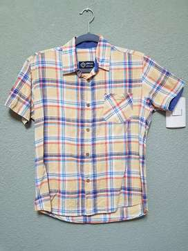Camisa Niño Cuadros #14 Usado