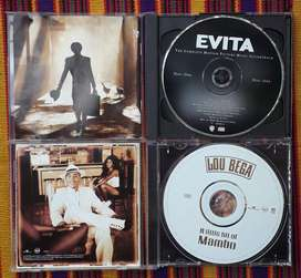 3 CD's Originales  - EVITA / LOU BEGA, A LITTLE BIT OF MAMBO