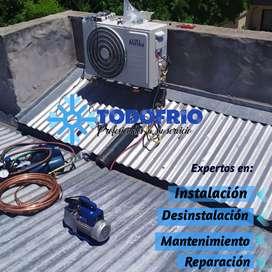 Aire , Instalcion,  desintalacion, mantenimiento y reparacion