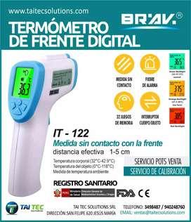 Termómetro de frente digital