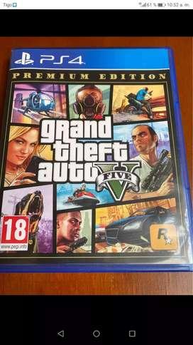 GTA V USADO PS4