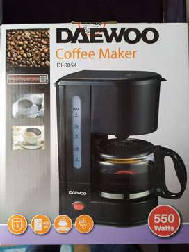 Cafetera nueva Marca Daewoo dl 8054