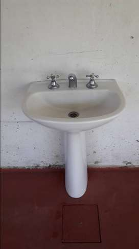 Vendo pileta de baño completa