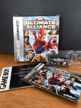 "Juego ""Ultimate Alliance""Game Boy Advance"