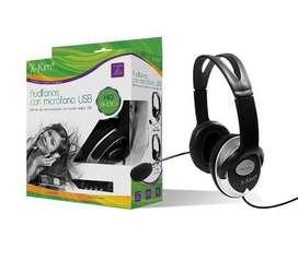Audifono - Microfono Xkim HF-868U