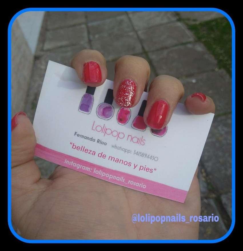 Manicura Semipermanente en Rojo 0