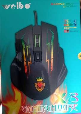 Gamer mouse E-sport X8