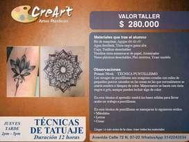 Taller Técnicas de Tatuaje