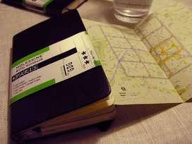 Moleskine Libreta De Viaje Paris Tapadura 9x14cms Sellada