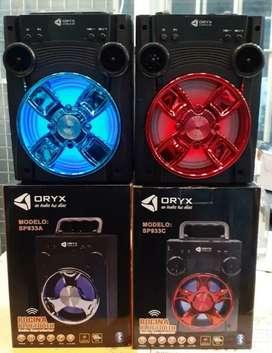 Parlante Oriys Bluetooth, Radio, memoria!!