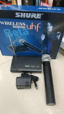 Micrófono inalambrico shure