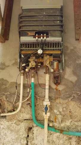 Mantenimiento de calentadores  de agua estufas hornos