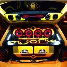 Instalación de Audio Car , Mericano