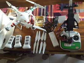 Drone phanton 3 standar con 3 baterias