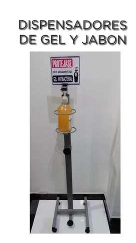 Dispensador de gel