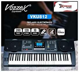 YA LLEGO! ORGANO ELECTRONICO MARCA VOZZEX MODELO VKU-812