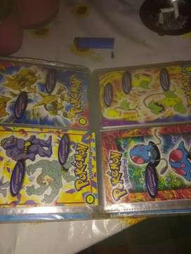 Álbum tarjetas Pokémon