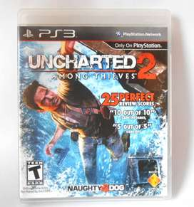 Uncharted 2 Among Thieves Ps3 Negociable Playstation 3 Juego Game