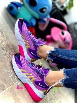 Zapato Tennis Deportivo Nike React Para Mujer