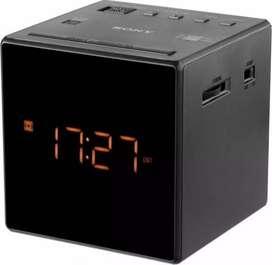 Radio Reloj Despertador Am fm Sony Icf-c1 100mw