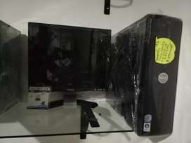 Oferta computadores dell intel core 2 duo con monitor 17 dell