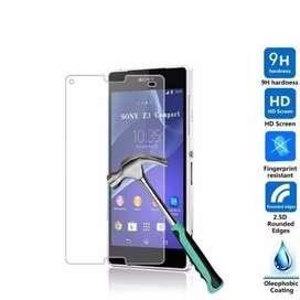 Mica Vidrio Templado Sony Xperia Xa M2 M4 M5 Aqua Z Premium