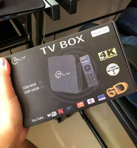 SUPER PROMO! CONVERTIDOR SMART TV BOX CON 1 DE RAM Y 8GB, INCLUYE APP DE PELICULA. DOMICILIO GRATIS
