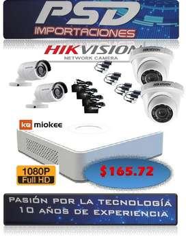 cámaras de seguridad hik vision 1080