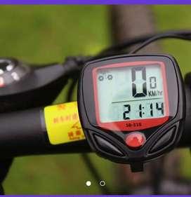 Velocímetro bicicleta reloj digitsl
