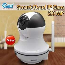 Camara Motorizada Robotica Wifi Micro Sd Ip 2mp 1080 NUEVAS