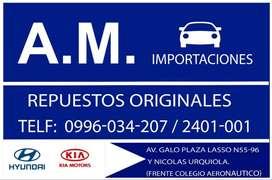 AM IMPORTACIONES REPUESTOS KIA SPORTAGE RIO PICANTO PREGIO SORENTO CARENS ETC