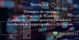 Servicios Tecnicos Para PC
