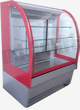 Exhibidora refrigeragada para embutidos, lacteos o gaseosas