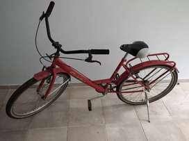 Bicicleta de dama, estilo playera