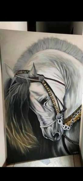 cuadro caballos