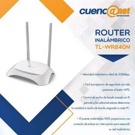 Tplink Tlwr840n Router Wireless N 300mbps 4port Switch