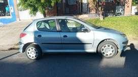 Vendo Peugeot 206 diesel 1.9 mod 2004