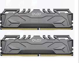 Memorias DDR4 16GB 3200HMZ set (2*8GB) Marca OLOy