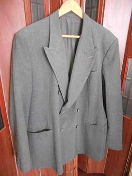 Saco De Vestir Hombre T.xl Gris Medio - Usado En Pilar