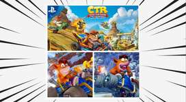 Crash Team Racing Nitro-Fueled - PS4 & PS5