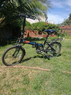Bici plegable Raleigh straight rodado 20