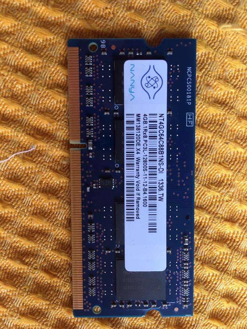 Memoria ram nanya 4G