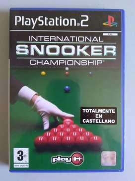 Snooker International Championship Orig. Sony Playstation2