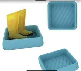 Lavapies para Desinfección de Suelas de Zapatos.