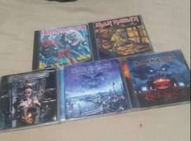 Iron Maiden cd 5 lot