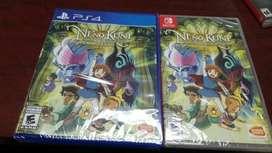 Ni No Kuni Ps4 Nintendo Switch Nuevo Sellado Stock
