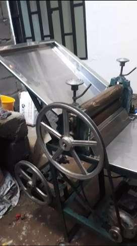 cilindro de panadería con molino
