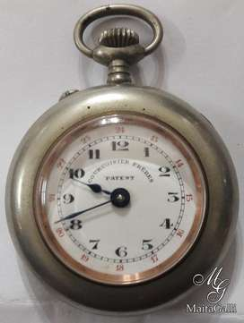 Hermoso Reloj Francés Couvoisier Frères. *1168