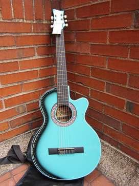 Kit guitarra acústica con cutaway - Escala larga (26 pulgadas)
