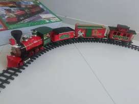 Tren eléctrico de navidad